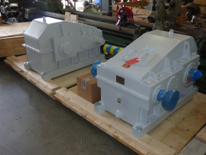Completed Gearboxes Ready to Ship