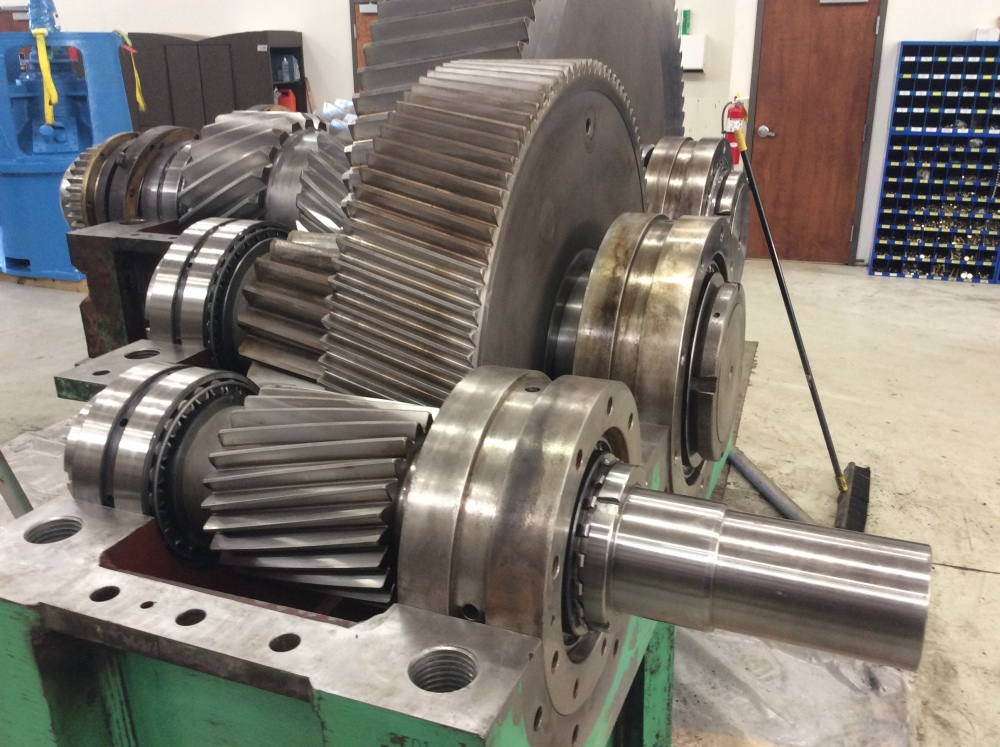 Rush Rebuild on Two Steel Mill Gearboxs