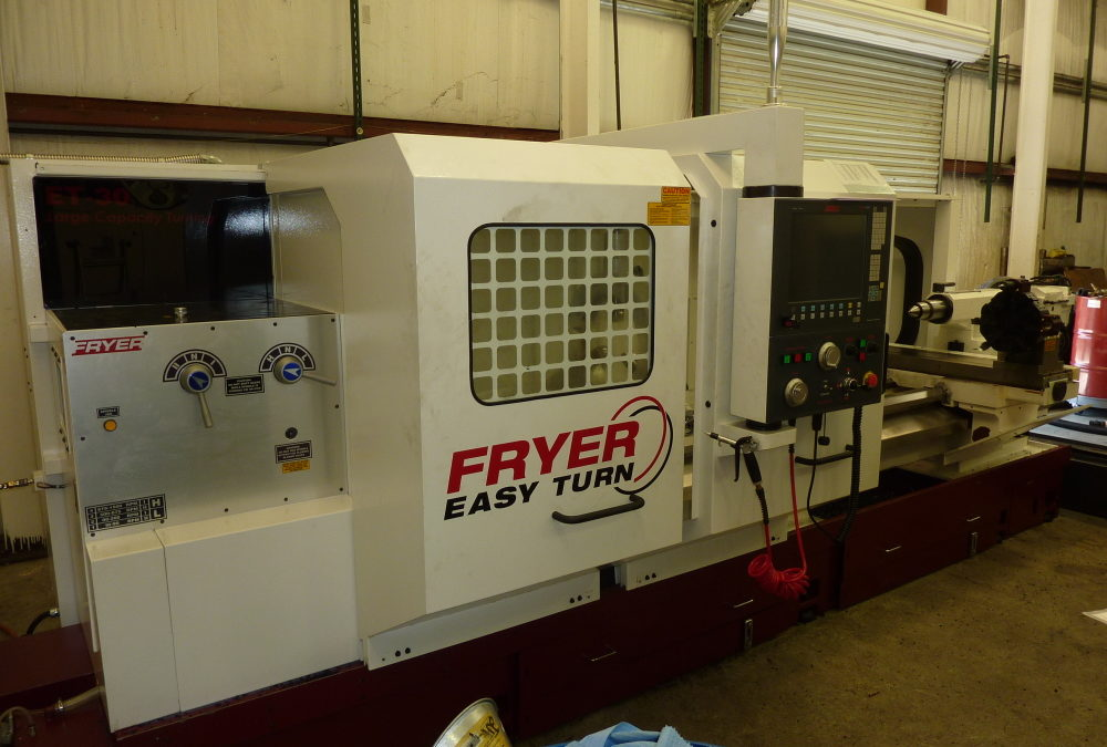 AGW Adds Fryer CNC Lathe and Mill to Expand Gearbox Repair Capabilities