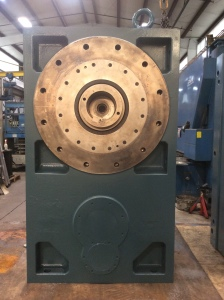 Rush Extruder Gearbox Repair