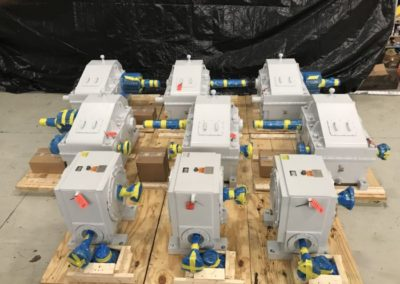 Custom Gearboxes for Army Corps of Engineers Dam